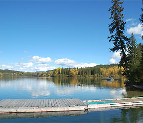 Cottonwood Bay Resort – Bridge Lake