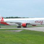 Air Canada Rouge, Boeing 767 für die Strecke Berlin–Toronto