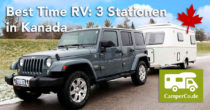 Best Time RV: 3 Stationen in Kanada