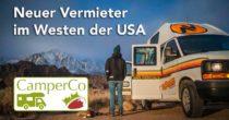 Neuer Camper-Vermieter im Westen der USA