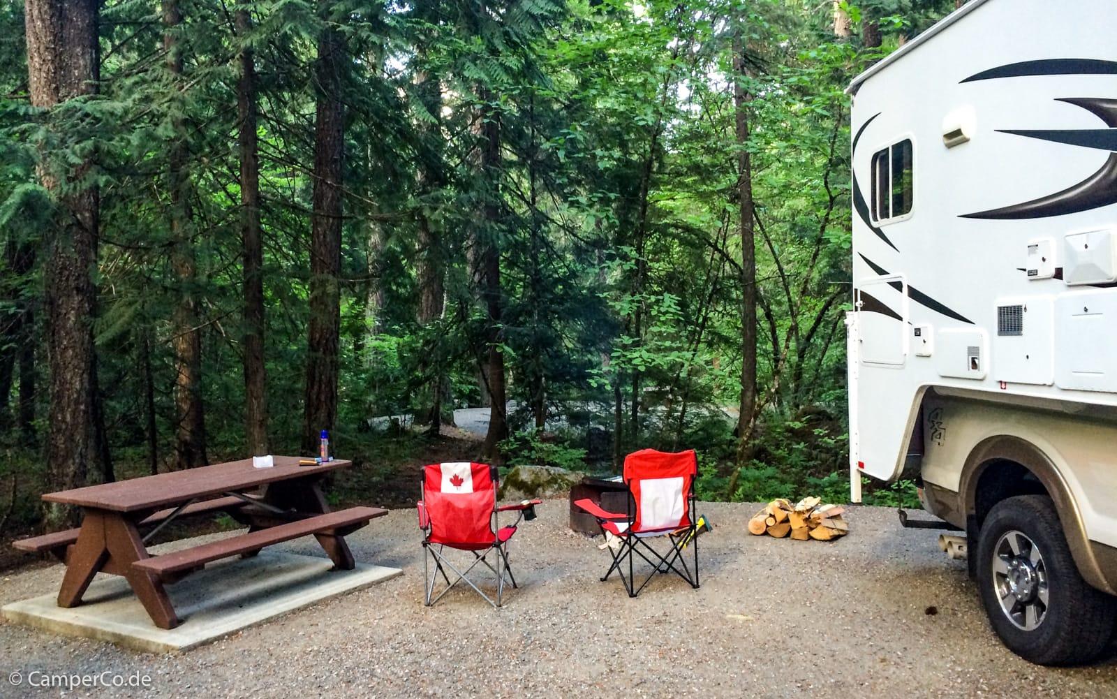 Outdoor Küche Aus Usa : Feuer und grillen beim camping in kanada und usa camperco