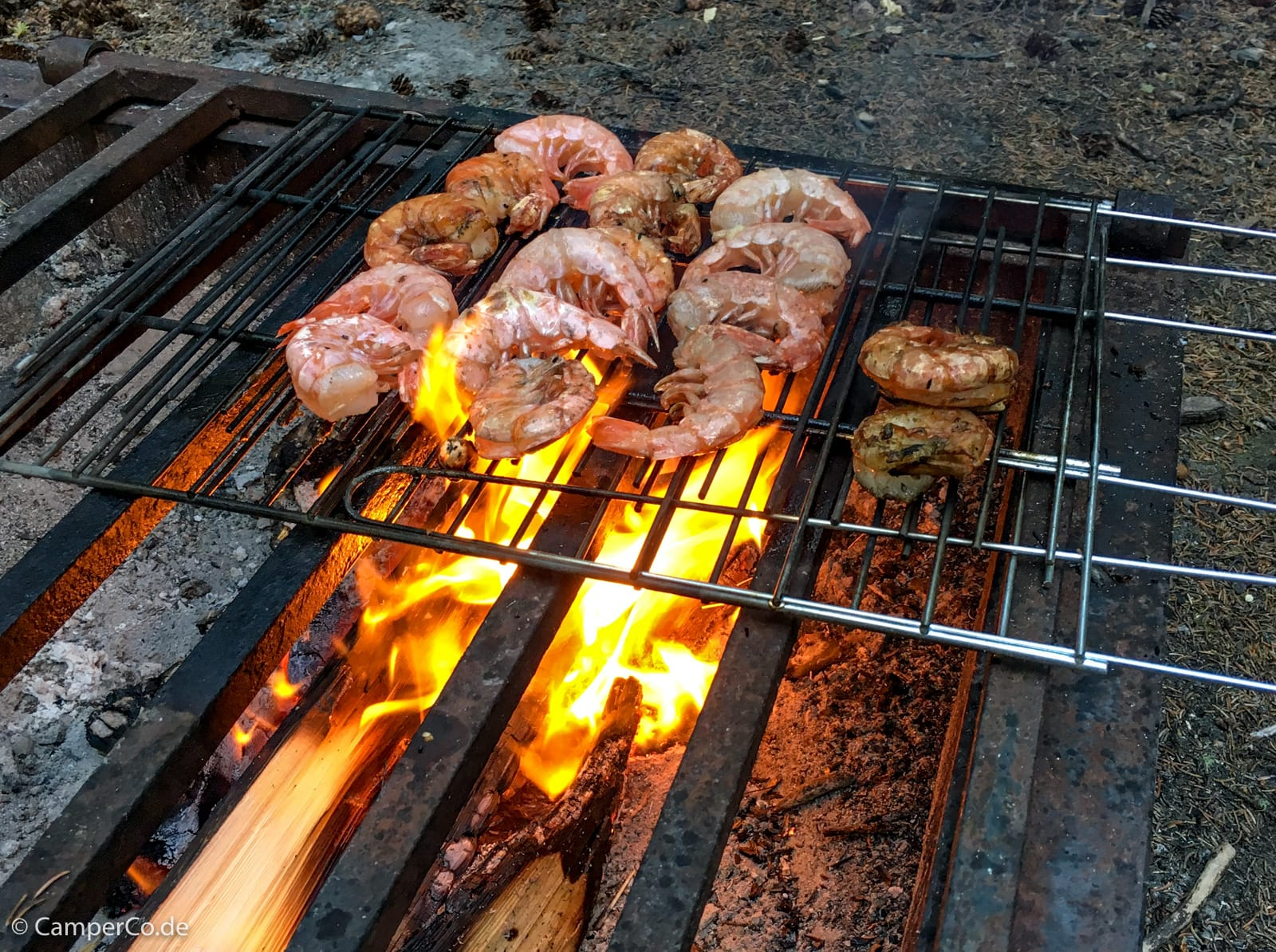 Feuer Und Grillen Beim Camping In Kanada Und Usa Camperco