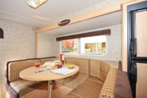 Dinette im Truck Camper Slide-out